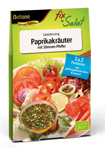 Beltane Fix für Salat Paprikakräuter