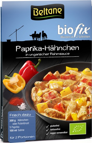 Beltane Biofix Paprika Hähnchen