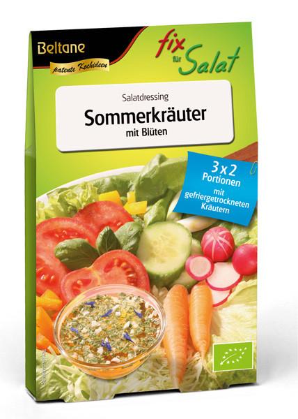 Beltane Fix für Salat Sommerkräuter