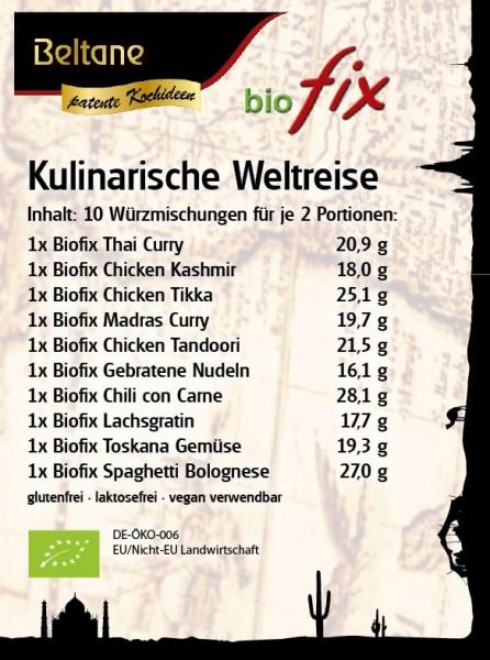 Biofix Kulinarische Weltreise -MHD 03.11.2018-